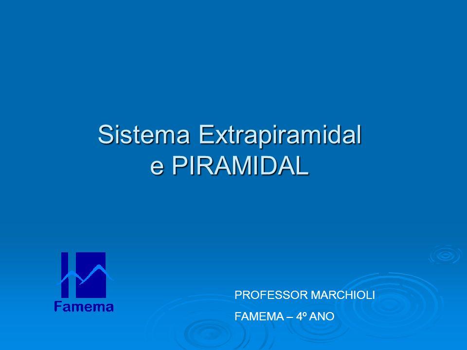 Sistema Extrapiramidal e PIRAMIDAL