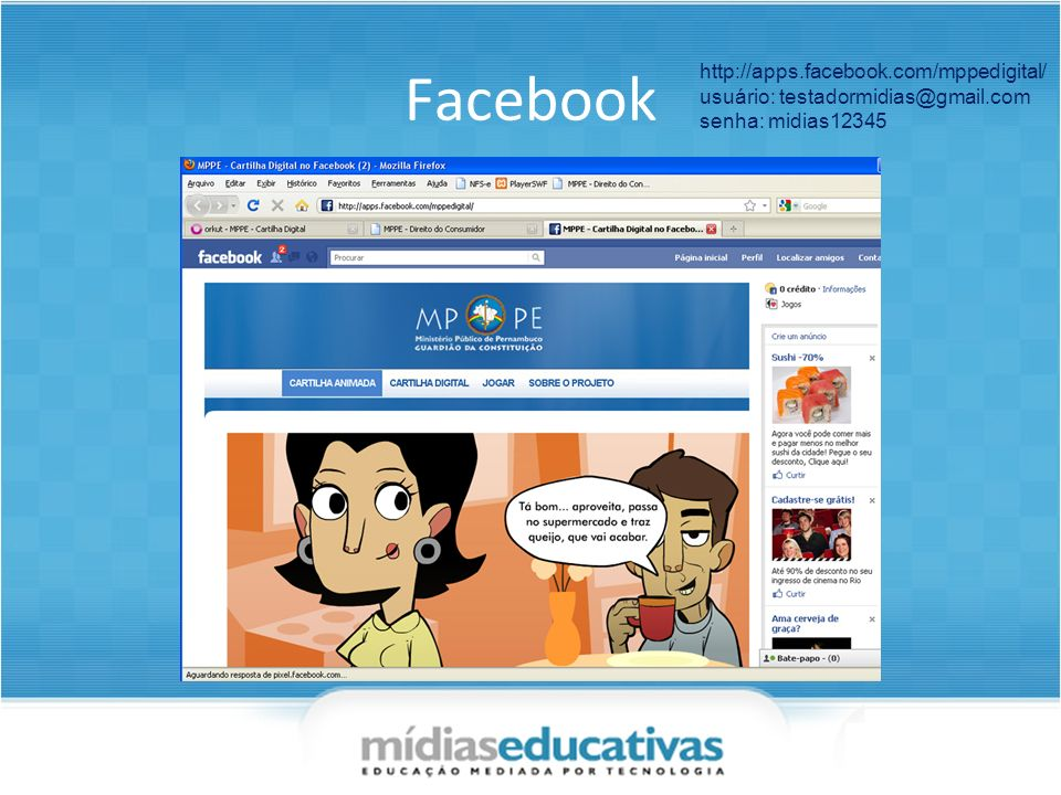 Facebook http://apps.facebook.com/mppedigital/