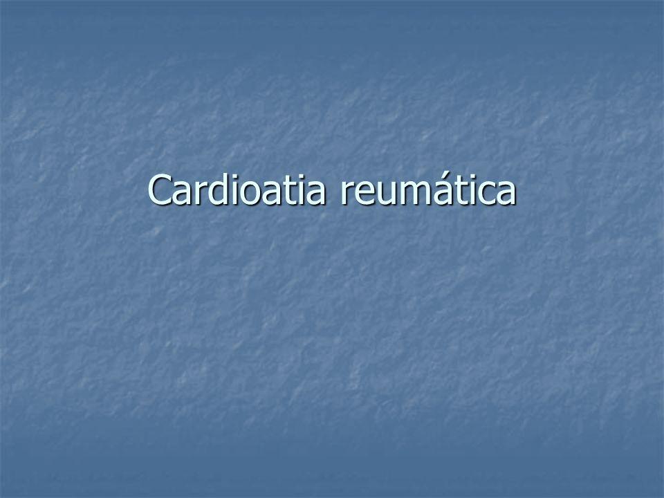 Cardioatia reumática