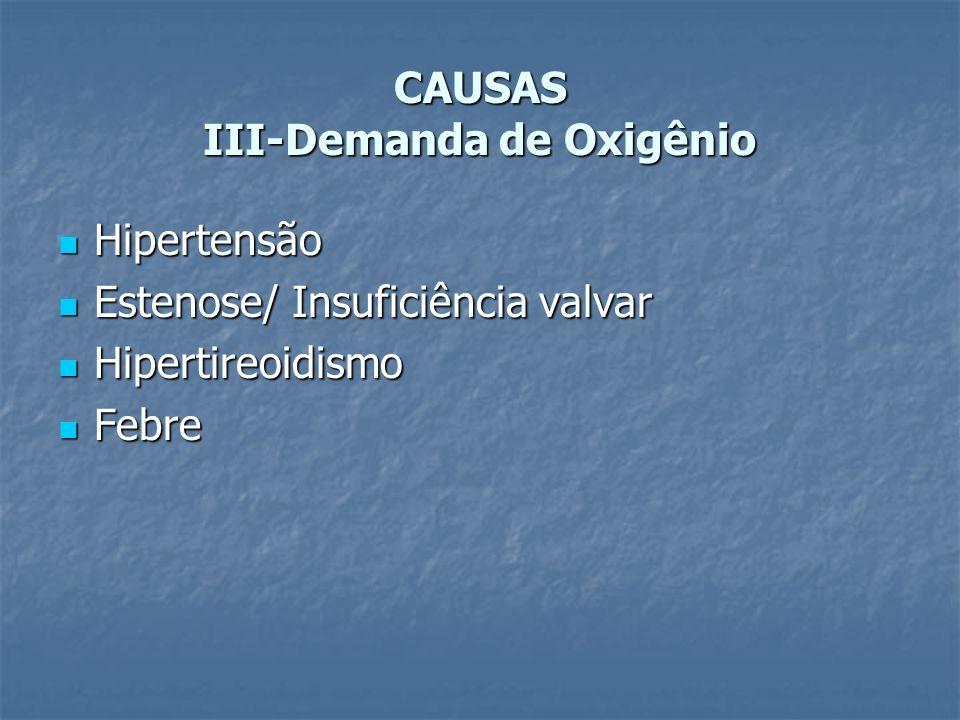 CAUSAS III-Demanda de Oxigênio