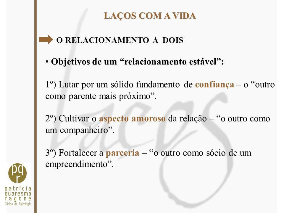 Objetivos de um relacionamento estável :