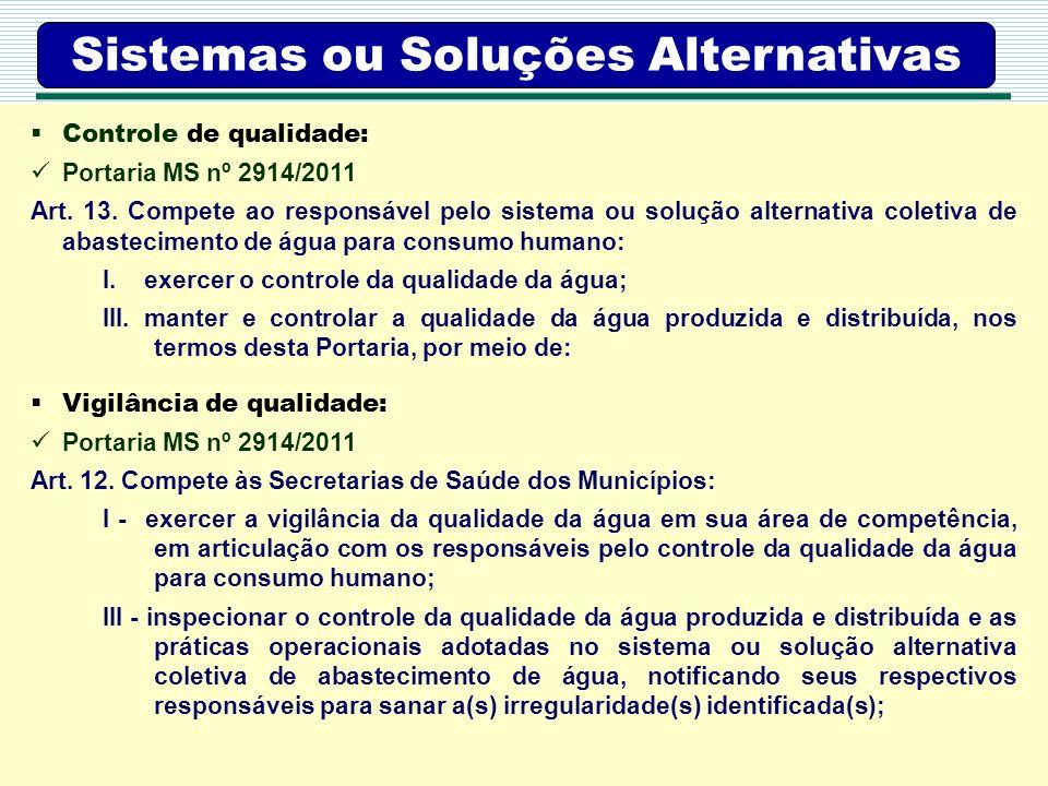 Sistemas ou Soluções Alternativas