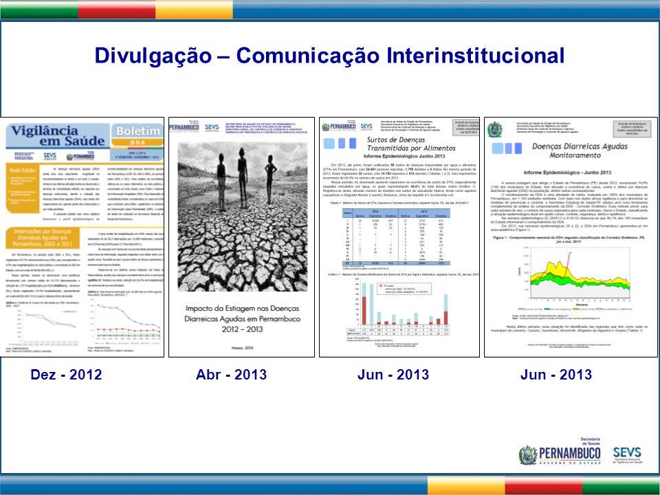 Divulgação – Comunicação Interinstitucional
