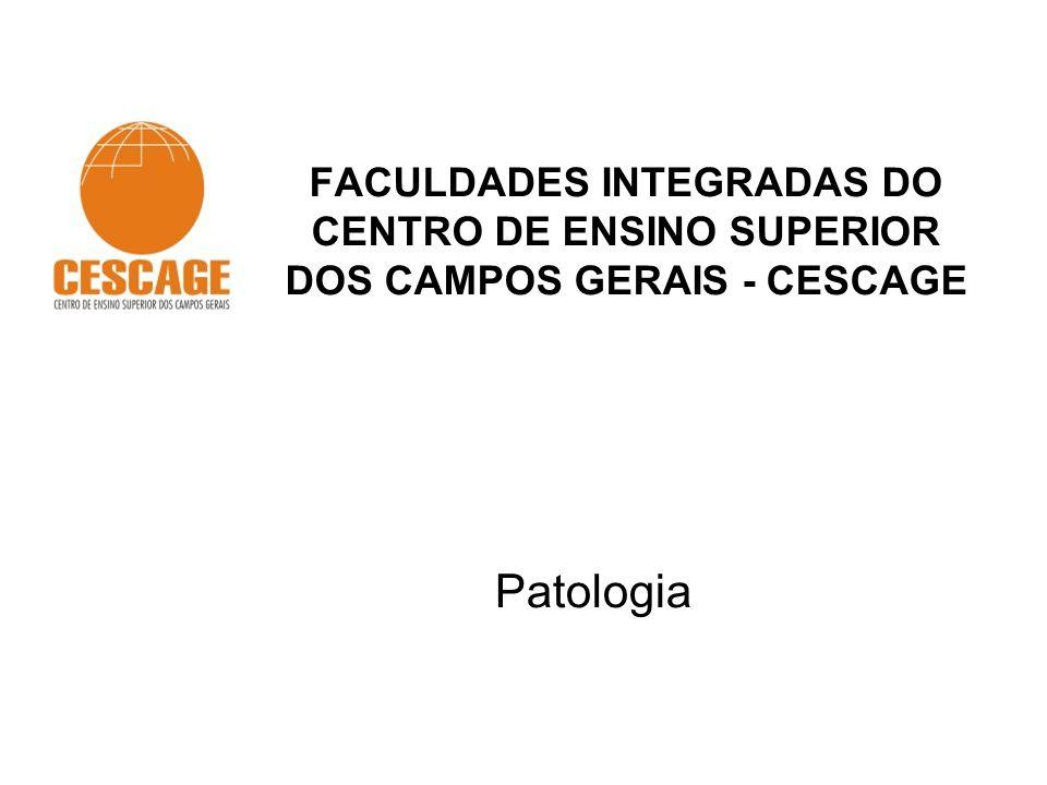 FACULDADES INTEGRADAS DO CENTRO DE ENSINO SUPERIOR DOS CAMPOS GERAIS - CESCAGE