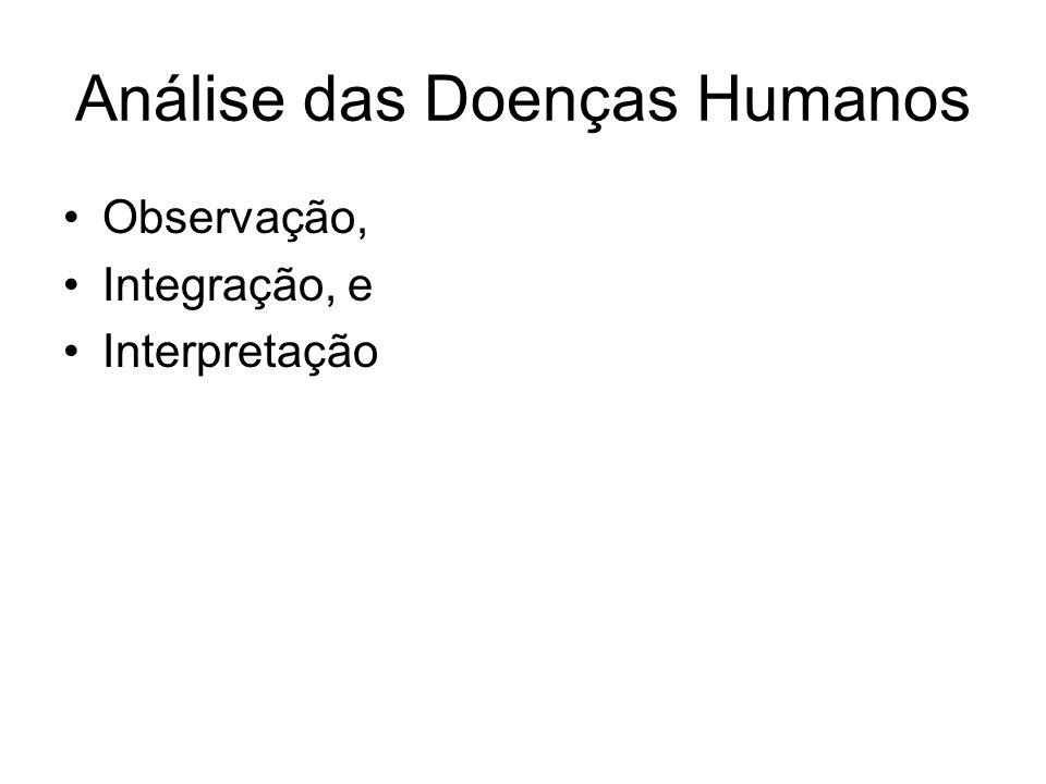 Análise das Doenças Humanos