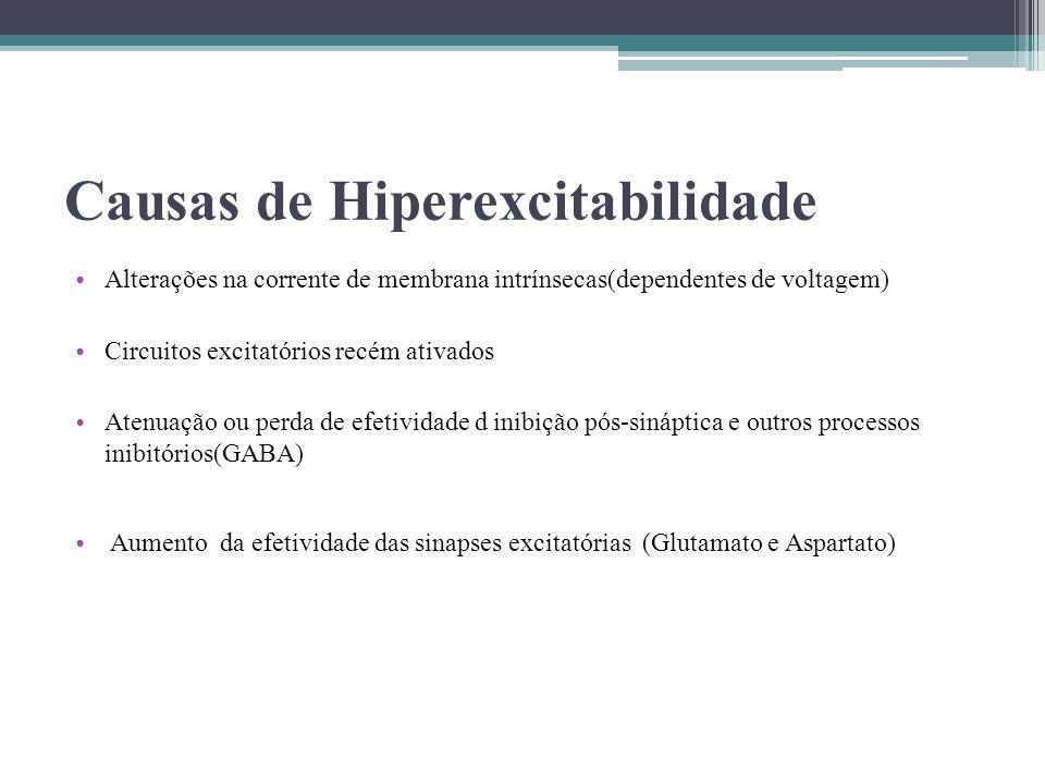 Causas de Hiperexcitabilidade