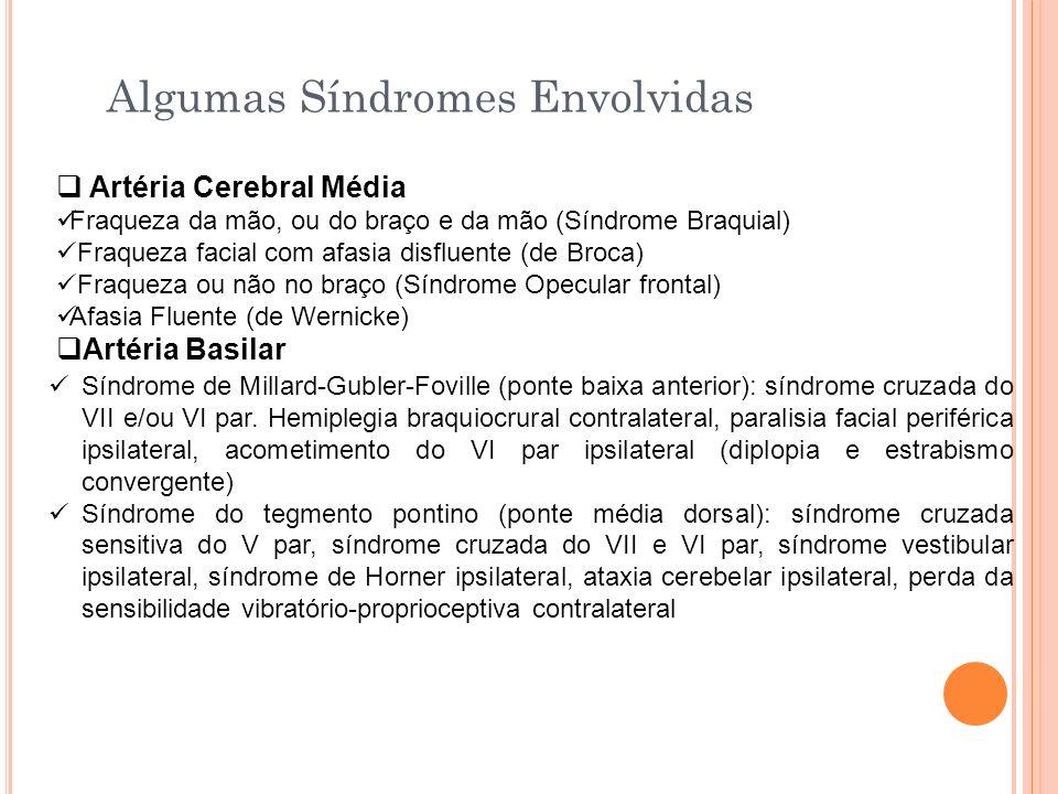 Algumas Síndromes Envolvidas
