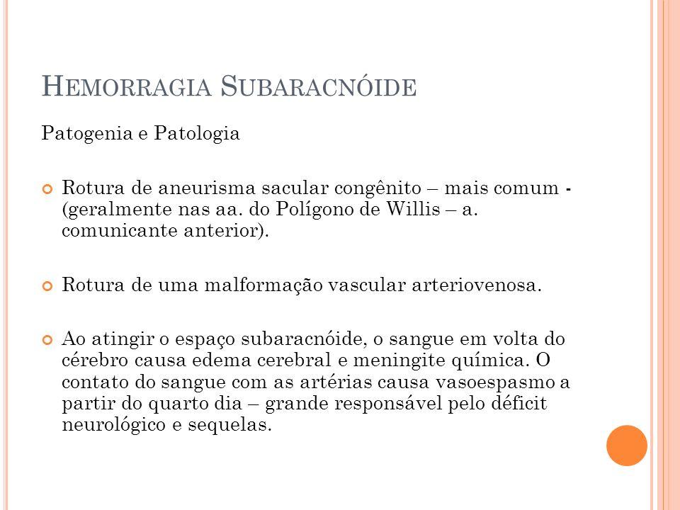 Hemorragia Subaracnóide