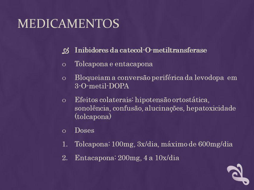 medicamentos Inibidores da catecol-O-metiltransferase