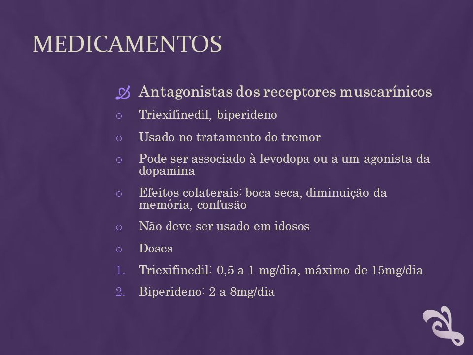 Medicamentos Antagonistas dos receptores muscarínicos