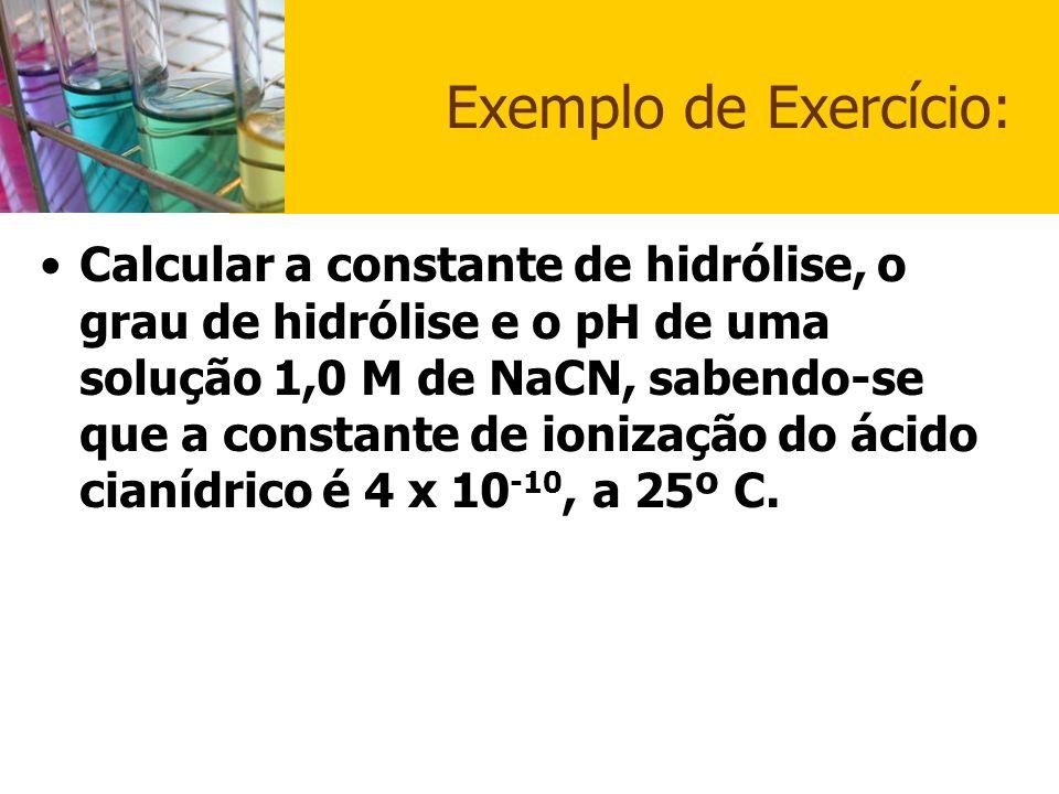 Exemplo de Exercício: