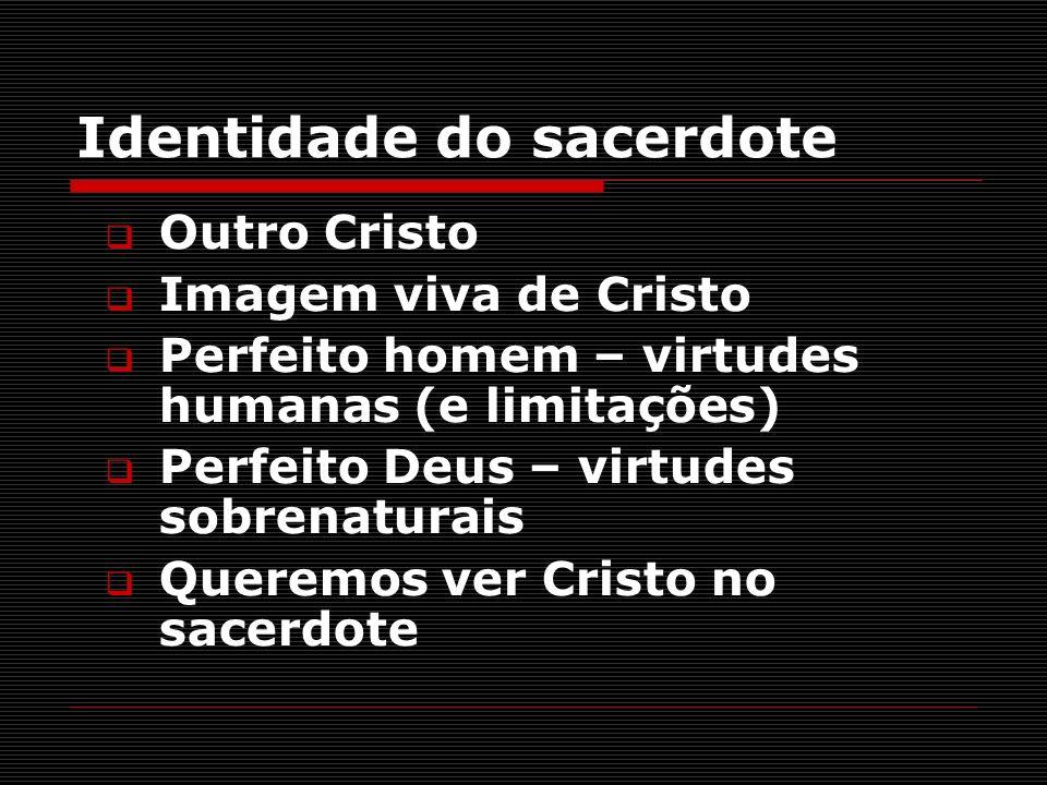 Identidade do sacerdote