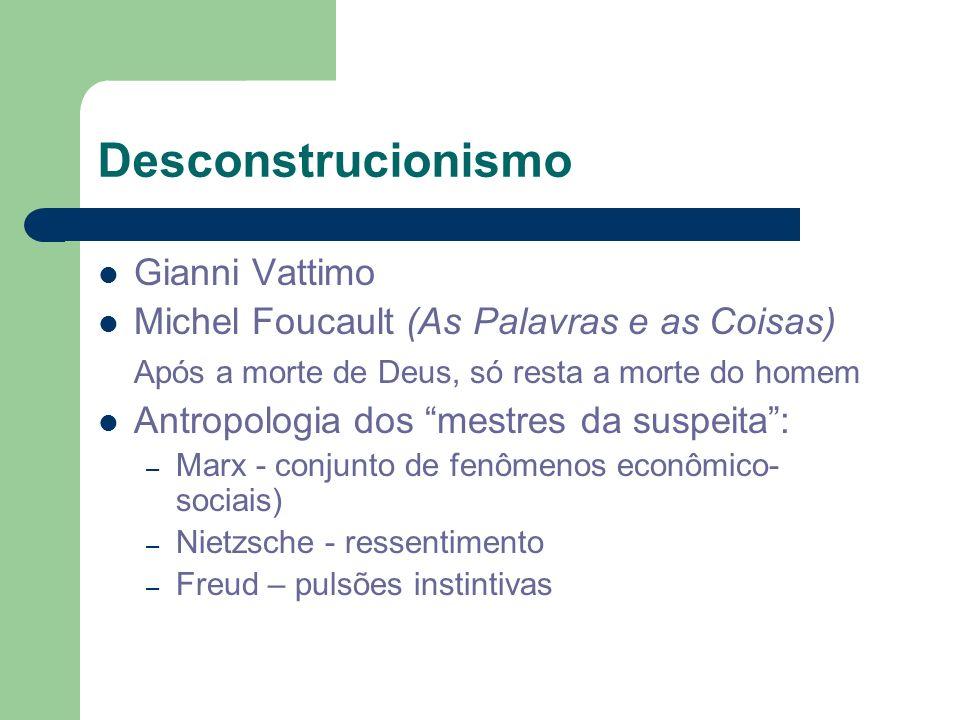 Desconstrucionismo Gianni Vattimo