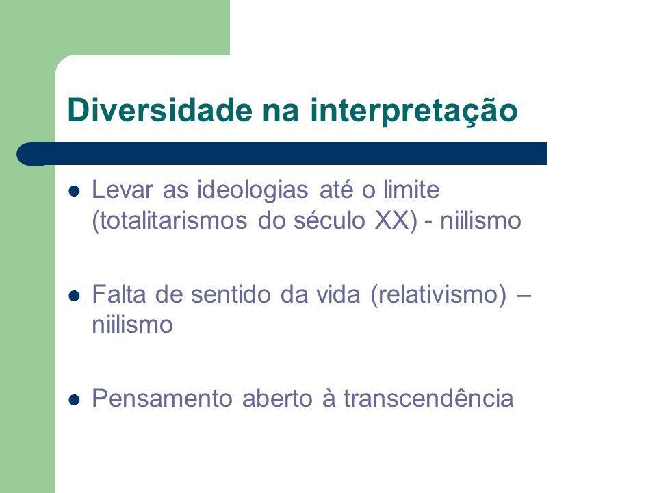 Diversidade na interpretação