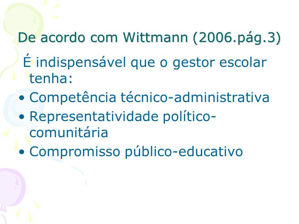 De acordo com Wittmann (2006.pág.3)