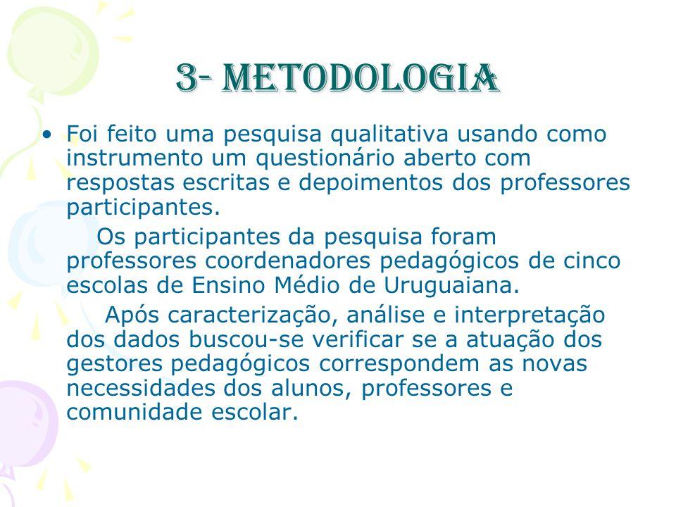 3- Metodologia