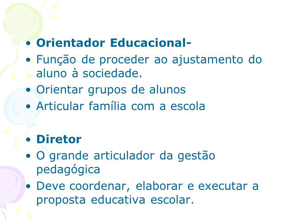 Orientador Educacional-