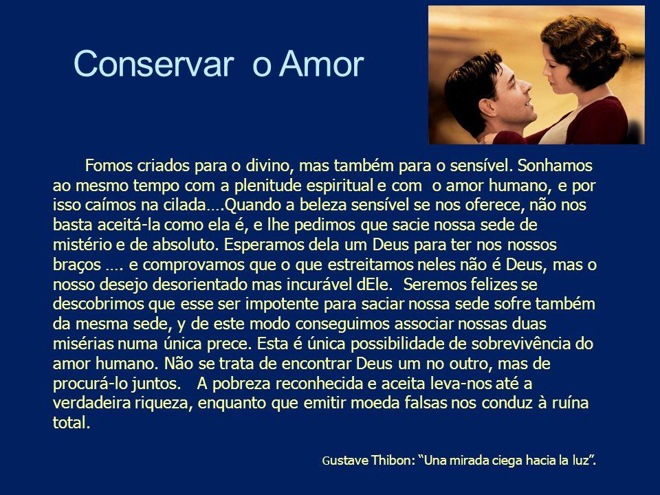Conservar o Amor