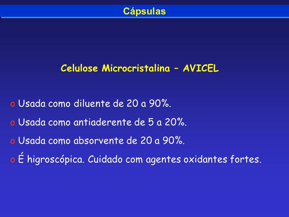 Celulose Microcristalina – AVICEL