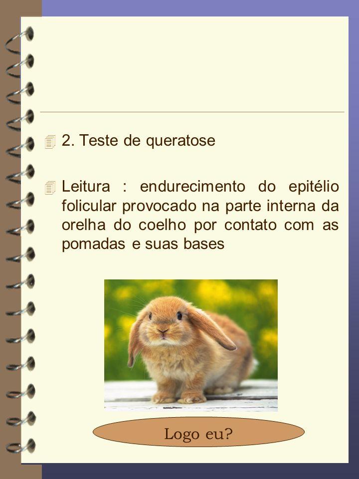 2. Teste de queratose