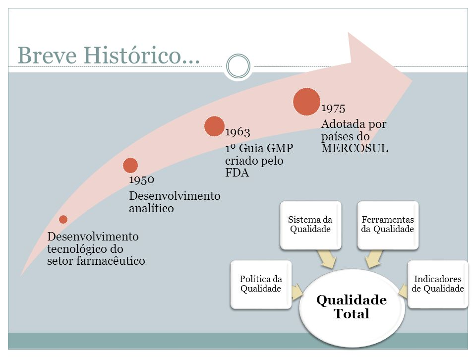 Breve Histórico... Qualidade Total