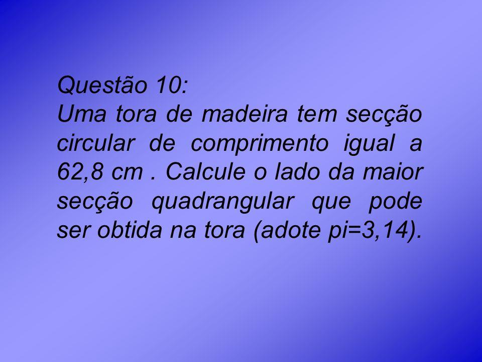 Questão 10:
