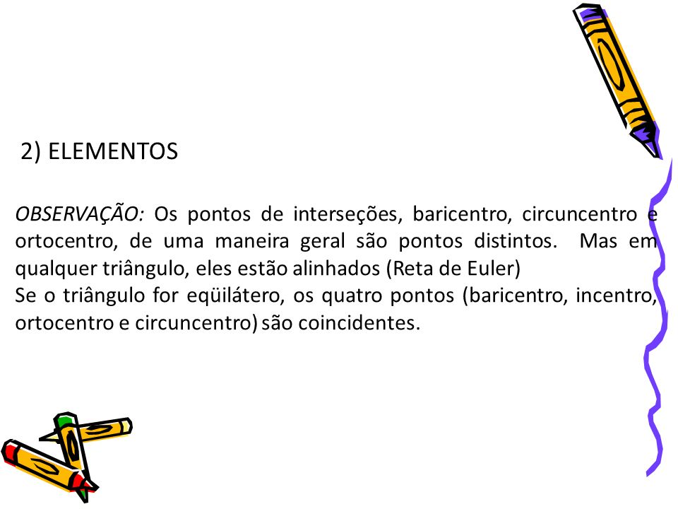 2) ELEMENTOS
