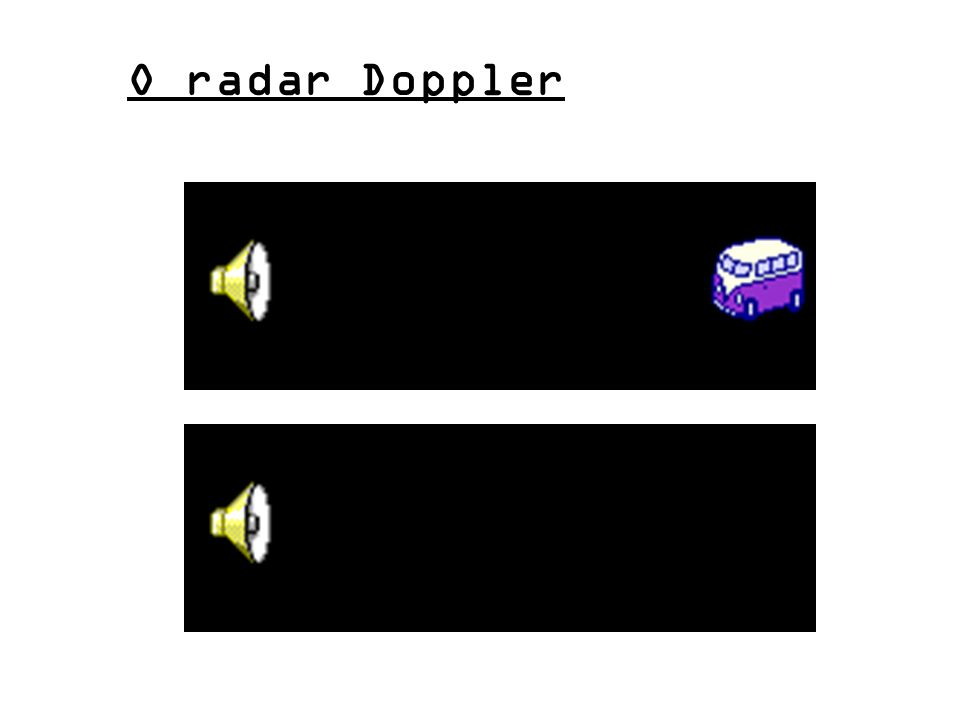 O radar Doppler