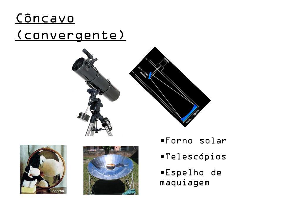 Côncavo (convergente) Forno solar Telescópios Espelho de maquiagem