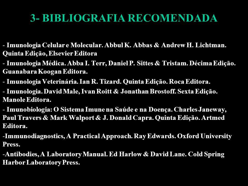 3- BIBLIOGRAFIA RECOMENDADA