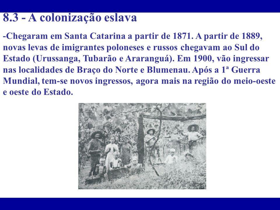 8.3 - A colonização eslava
