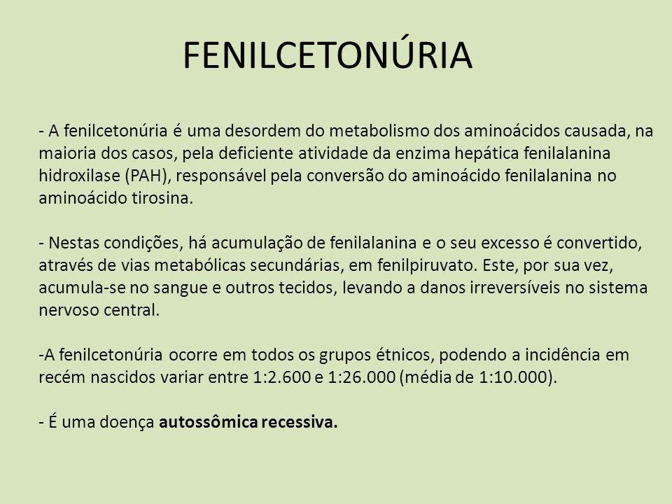 FENILCETONÚRIA