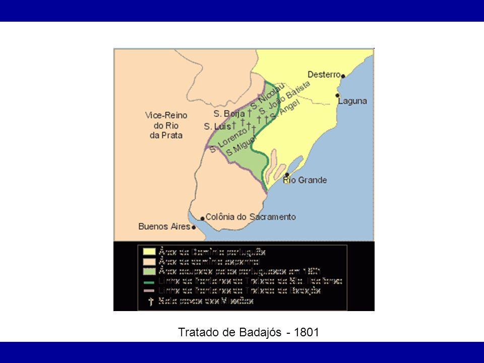 Tratado de Badajós - 1801
