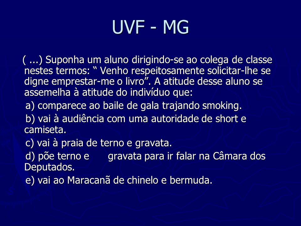 UVF - MG