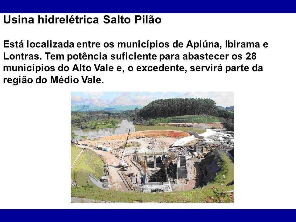 Usina hidrelétrica Salto Pilão