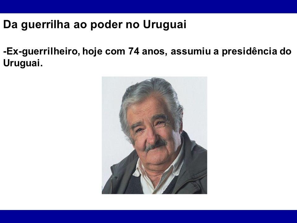 Da guerrilha ao poder no Uruguai