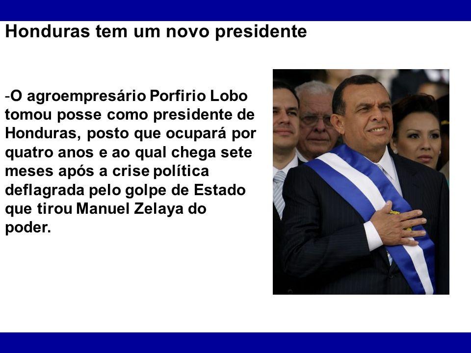 Honduras tem um novo presidente