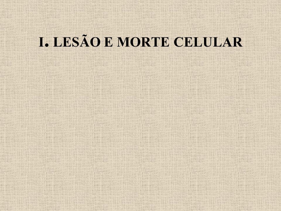 I. LESÃO E MORTE CELULAR