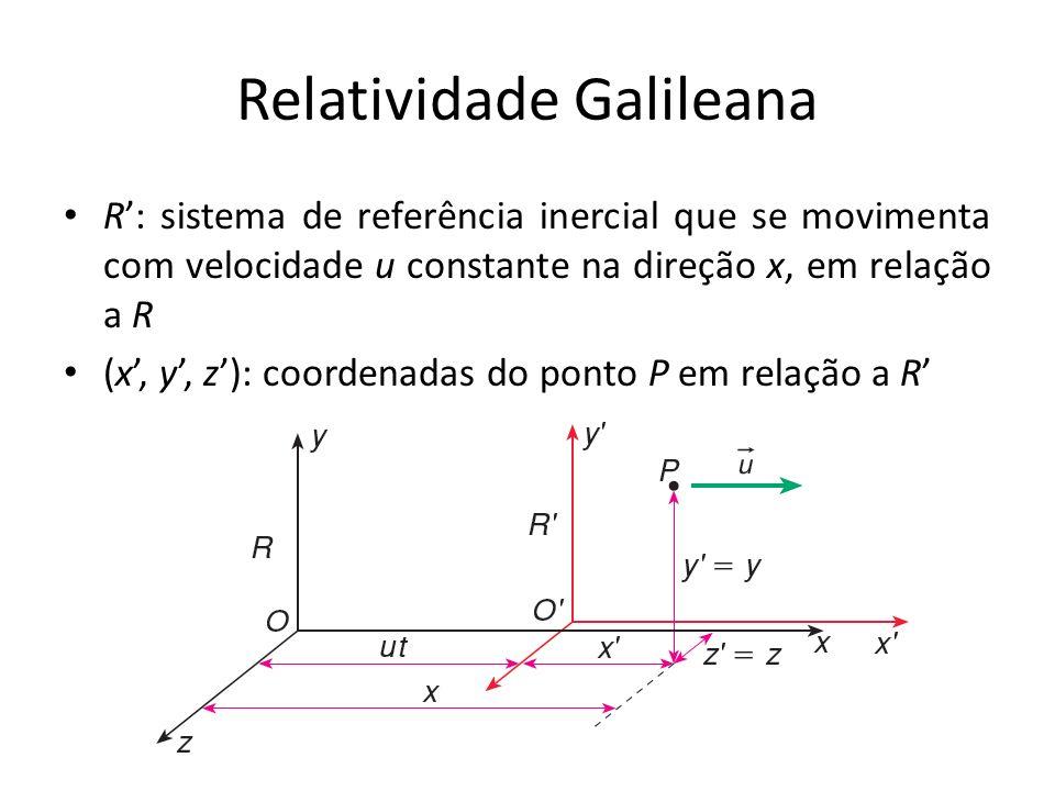 Relatividade Galileana