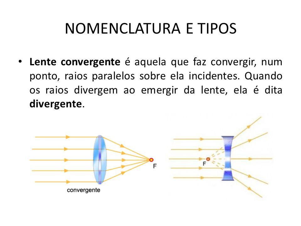 NOMENCLATURA E TIPOS
