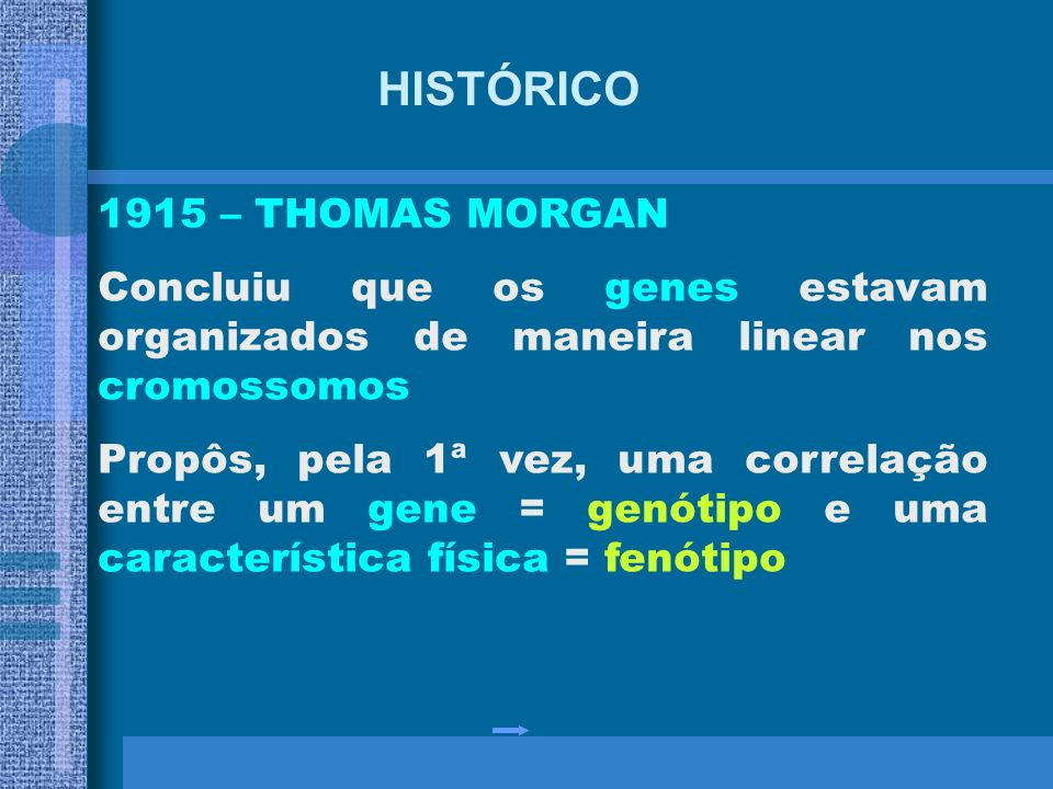 HISTÓRICO 1915 – THOMAS MORGAN