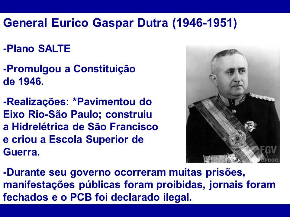 General Eurico Gaspar Dutra (1946-1951)