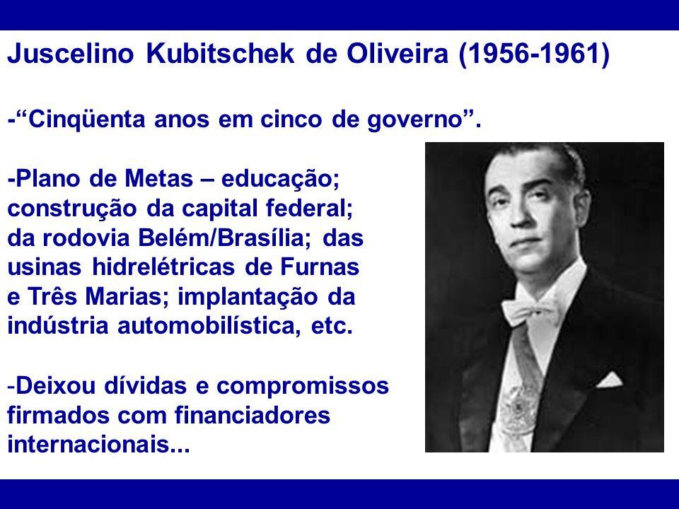 Juscelino Kubitschek de Oliveira (1956-1961)