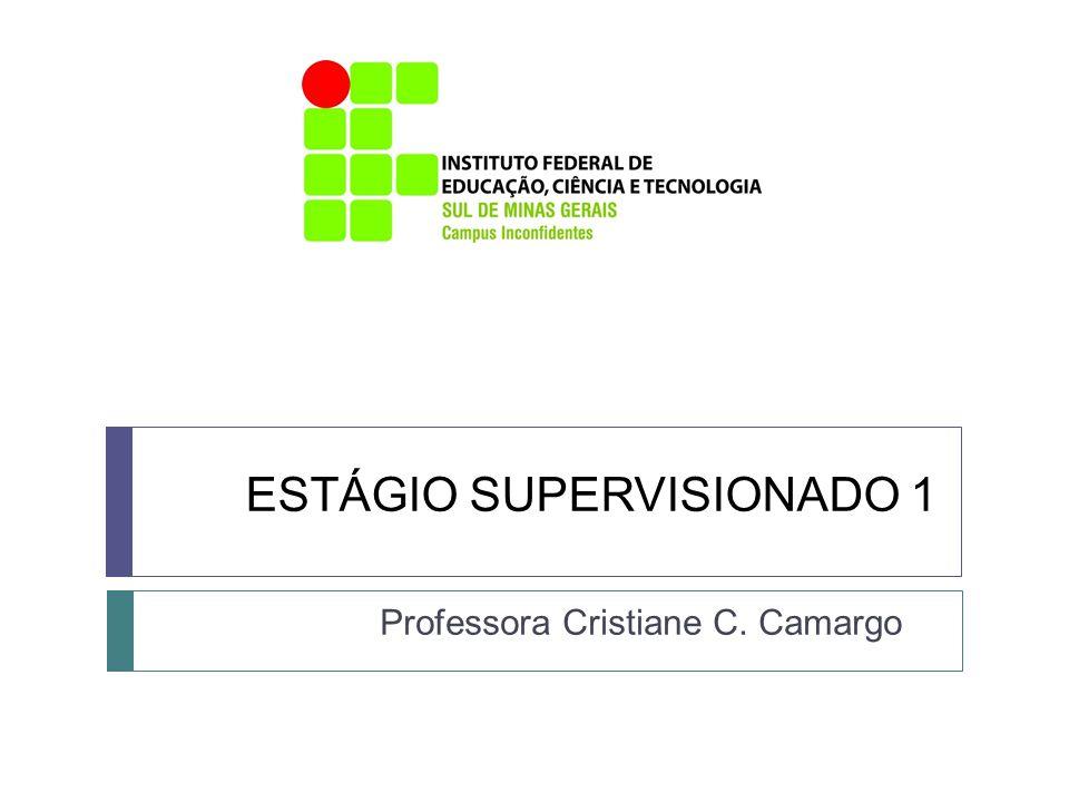 ESTÁGIO SUPERVISIONADO 1