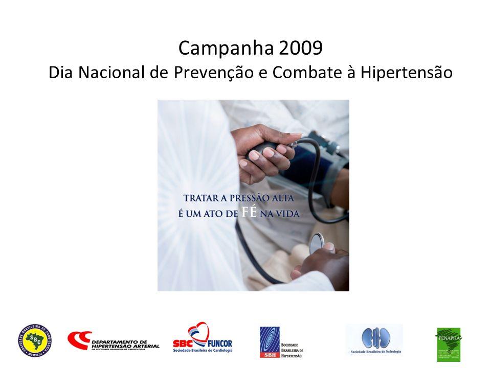 Campanha 2009 Dia Nacional de Prevenção e Combate à Hipertensão