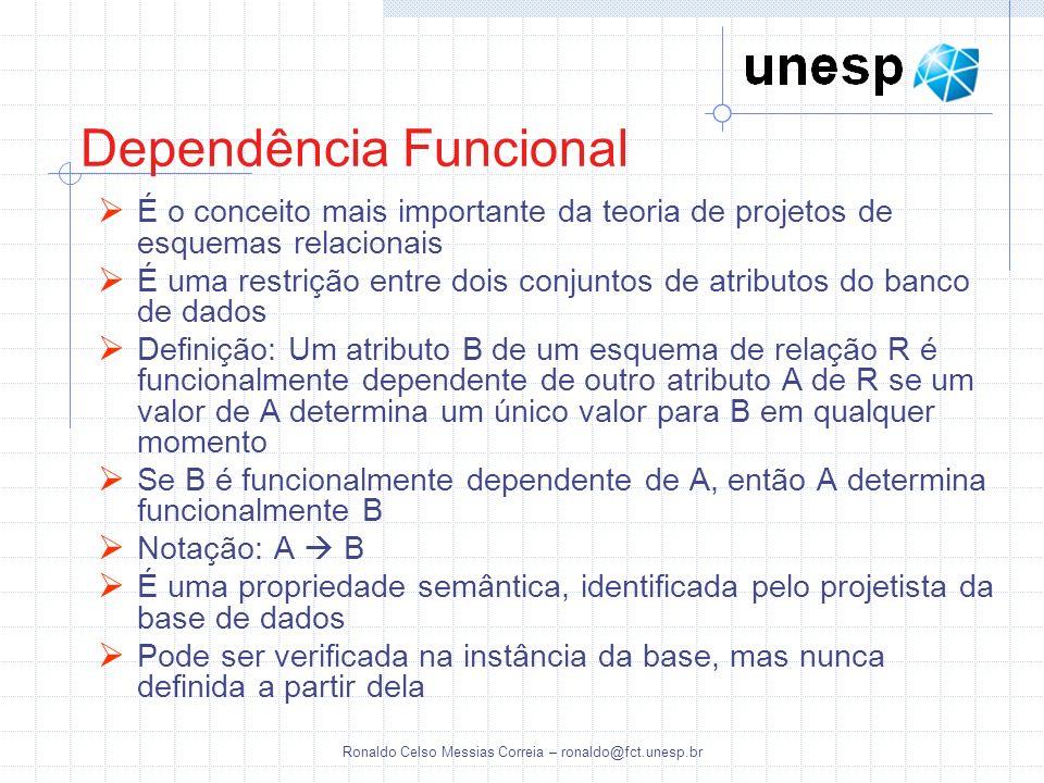 Dependência Funcional