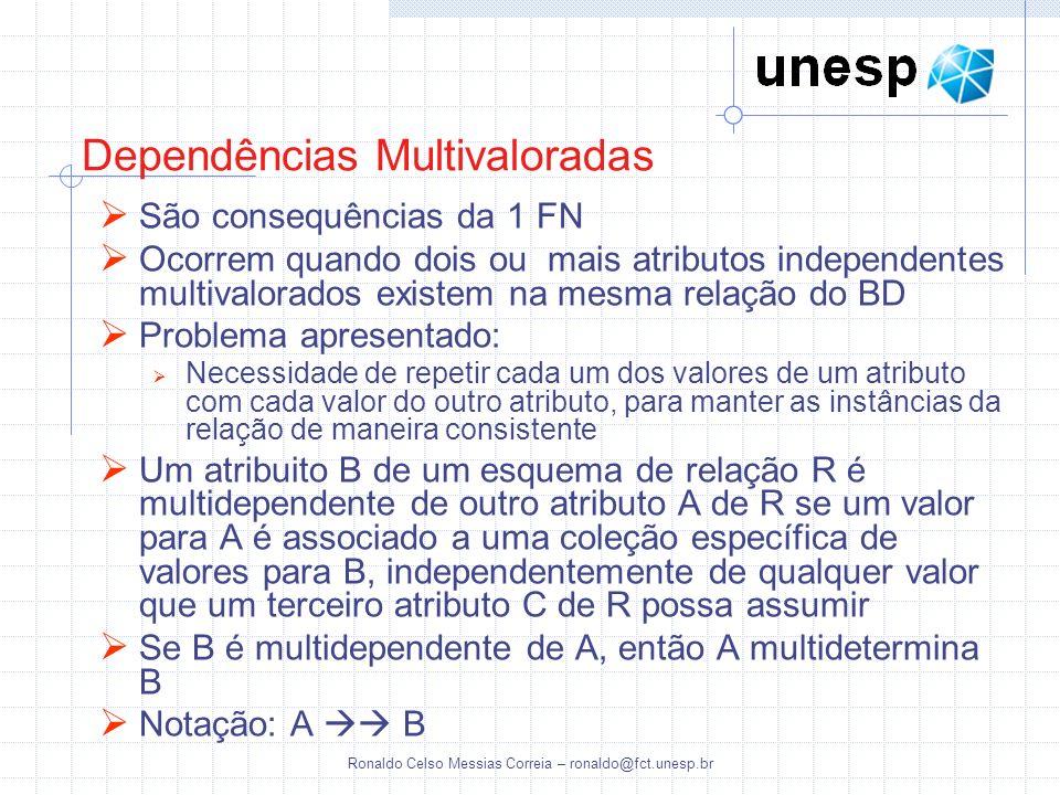 Dependências Multivaloradas