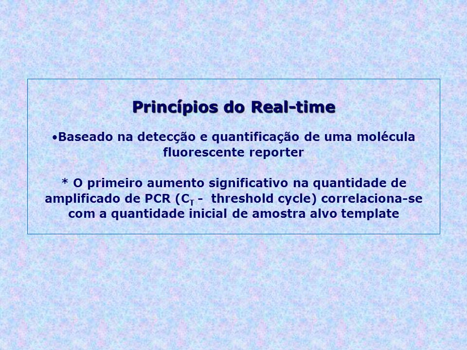 Princípios do Real-time