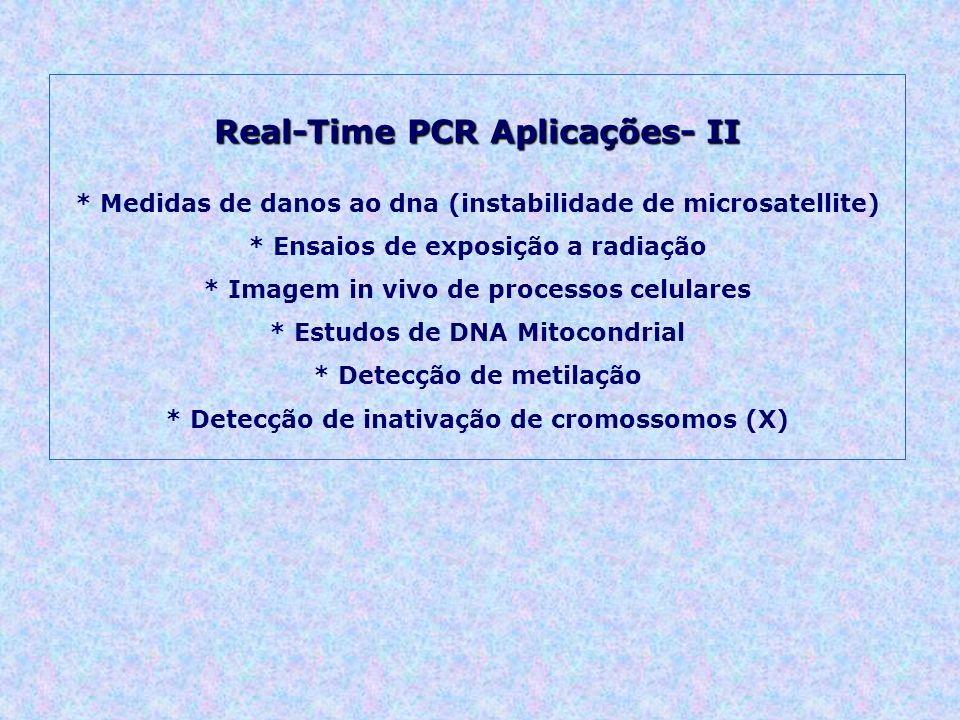 Real-Time PCR Aplicações- II