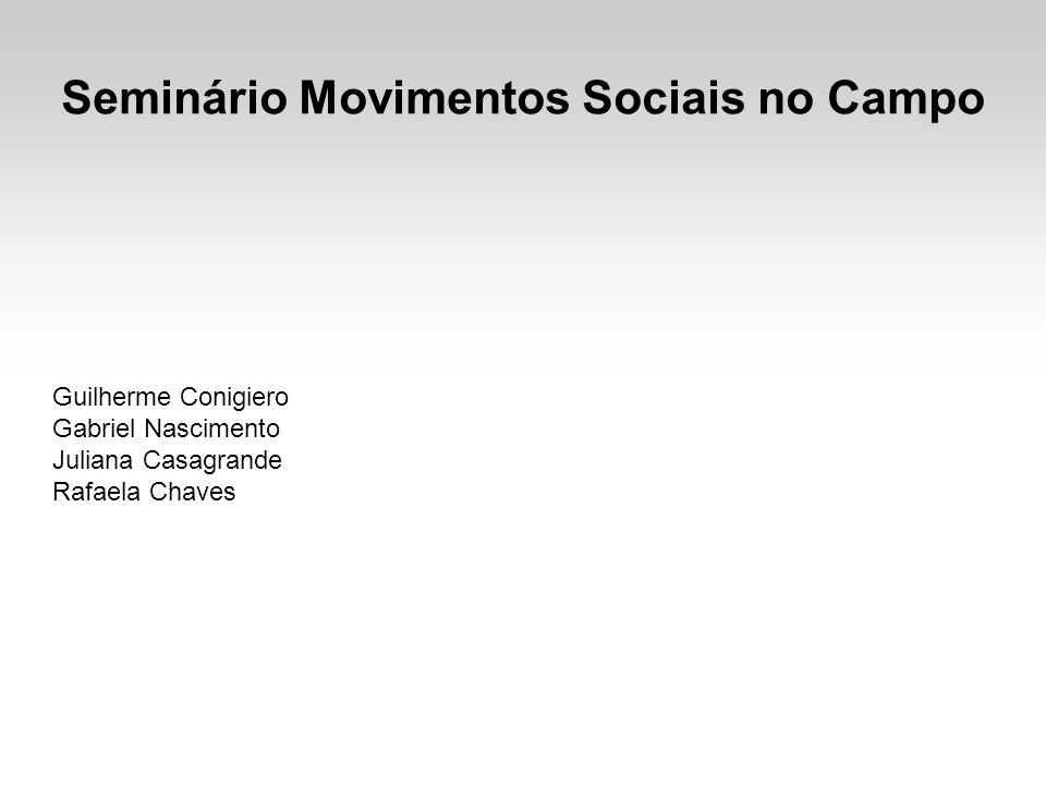 Seminário Movimentos Sociais no Campo